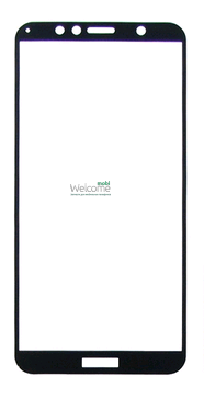 Защитное стекло HUAWEI Y6 (2018)/Y6 Prime 2018 Full Glue (0.3 мм, 2.5D, с олеофобным покрытием) black, захисне скло, фото 2