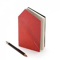 Записная книжка Hankie Pocketbook Monkey Business Красная
