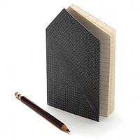Записная книжка Hankie Pocketbook Monkey Business (черная)