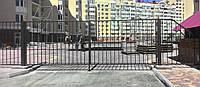 Откатные(консольные) ворота-решётка