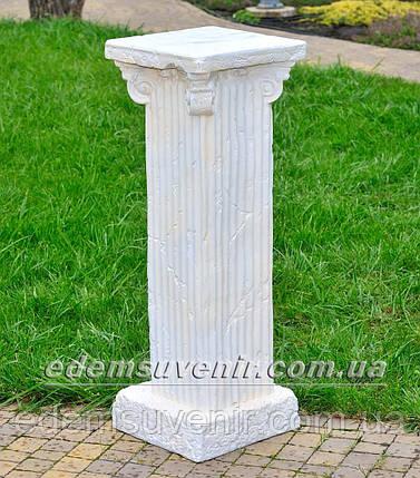 Садовая фигура Колонна Римская с полками, фото 2