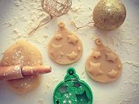 Вирубка новорічна Іграшка зірочки