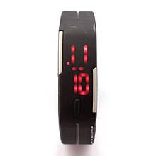 Часы наручные электронные ЛЕД часы LED Digital Watch Черные