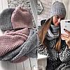 Женский стильный набор: шапка + бафф (4 цвета)