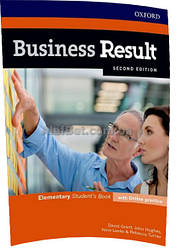 Английский язык / Business Result / Student's Book+Online. Учебник, Elementary / Oxford