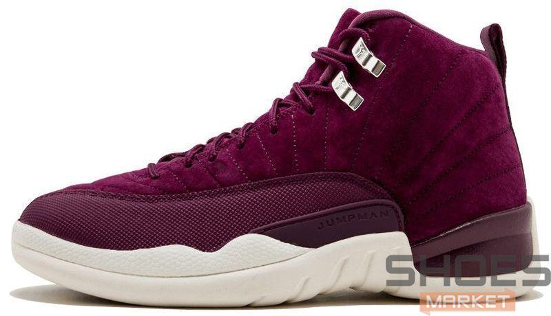 "f22a0875 Мужские кроссовки Nike Air Jordan 12 Retro ""Bordeaux"" - Интернет-магазин  обуви и"