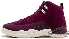"""Женские кроссовки Nike Air Jordan 12 Retro """"Bordeaux"""""""