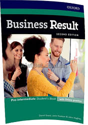 Английский язык / Business Result / Student's Book+Online. Учебник, Pre-Intermediate / Oxford