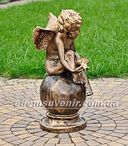 Фигура Ангел с лилией, фото 2