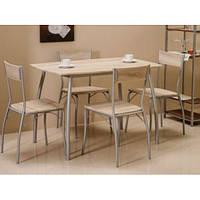 Стол + 4 стула Modus (дуб сонома)