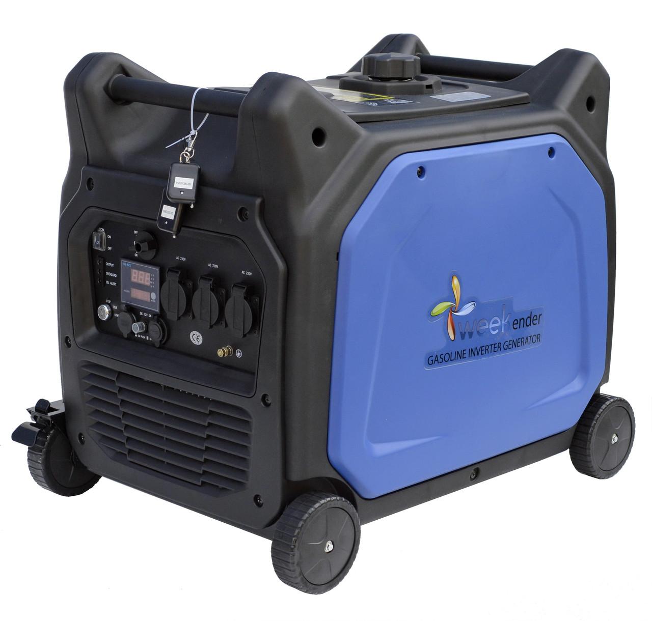 Генератор инверторный X6500ie (с электростартером)