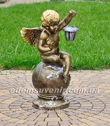 Фигура Ангел с фонарем, фото 2