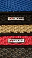 Шильдик, логотип эмблема HYUNDAI для автомобильного ковра