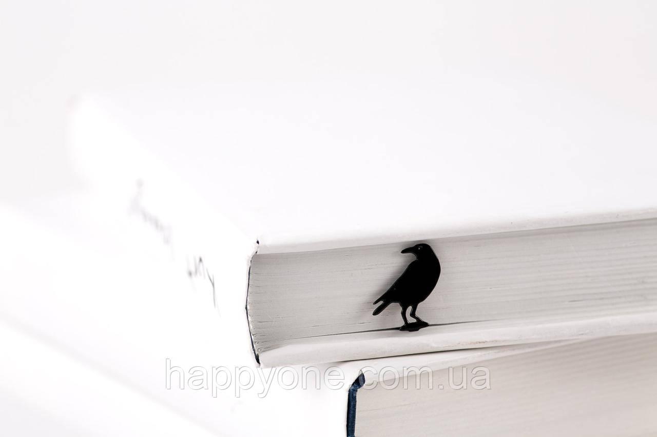 Закладка для книг Ворон