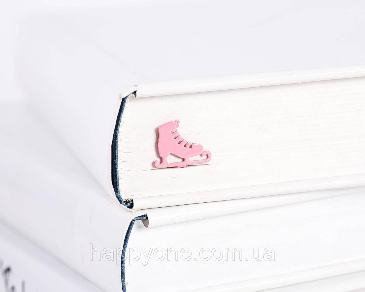 Закладка для книг Розовые коньки
