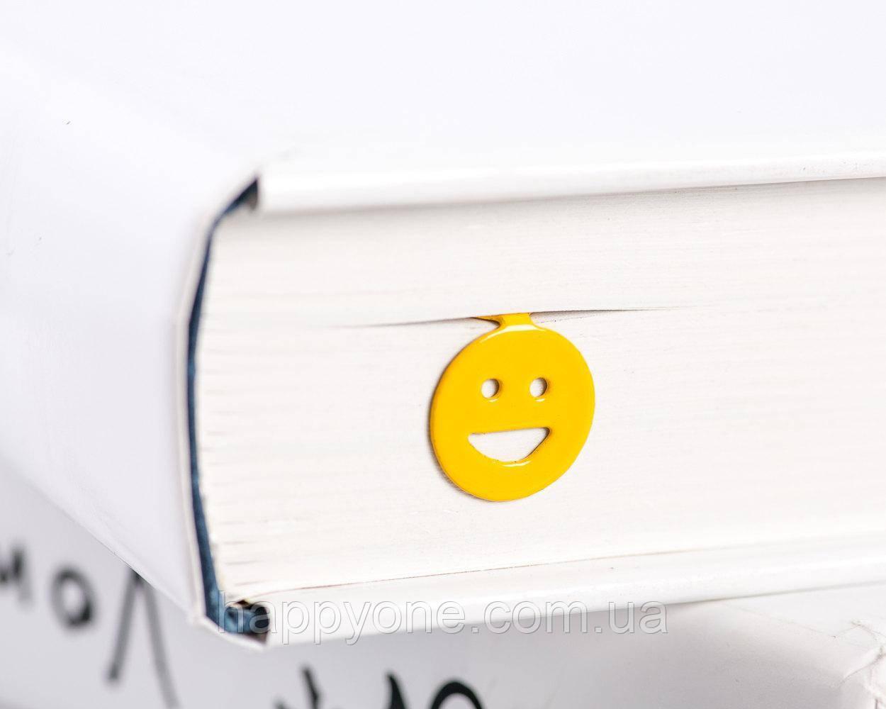 Закладка для книг Смайл