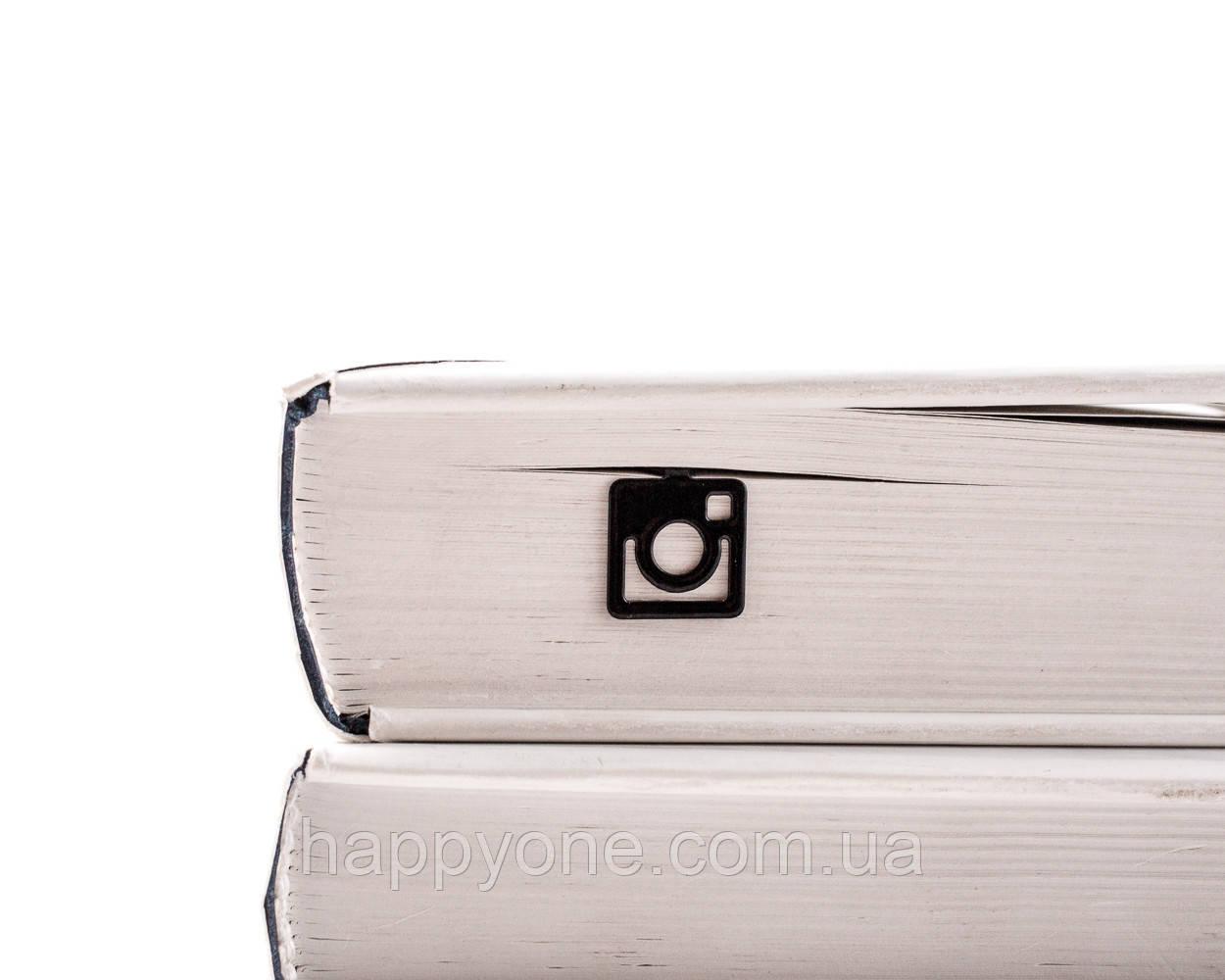 Закладка для книг Лого Instagram