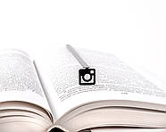 Закладка для книг Лого Instagram, фото 2