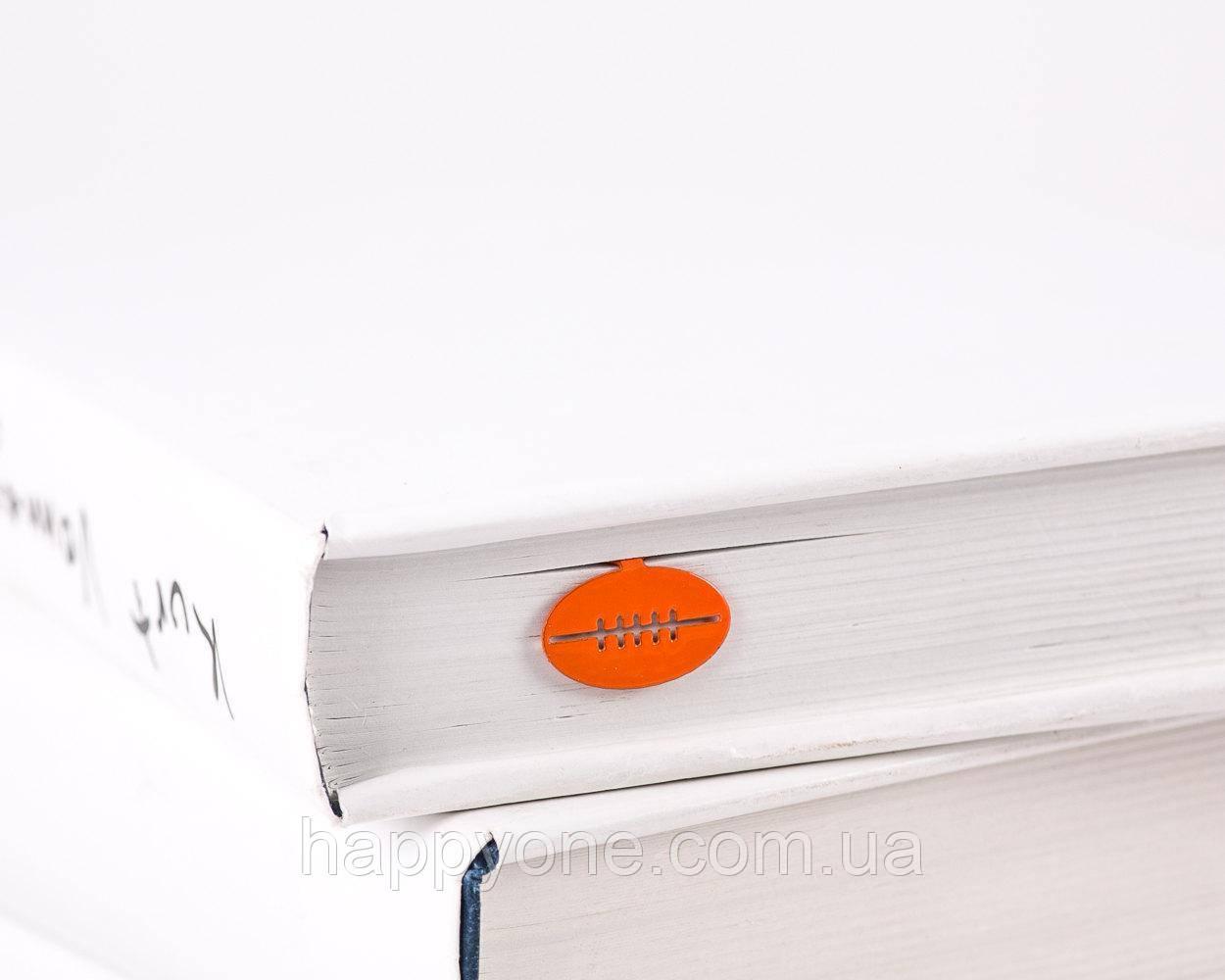 Закладка для книг Мяч Регби