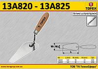 Мастерок штукатурный W1-20мм,  TOPEX  13A825