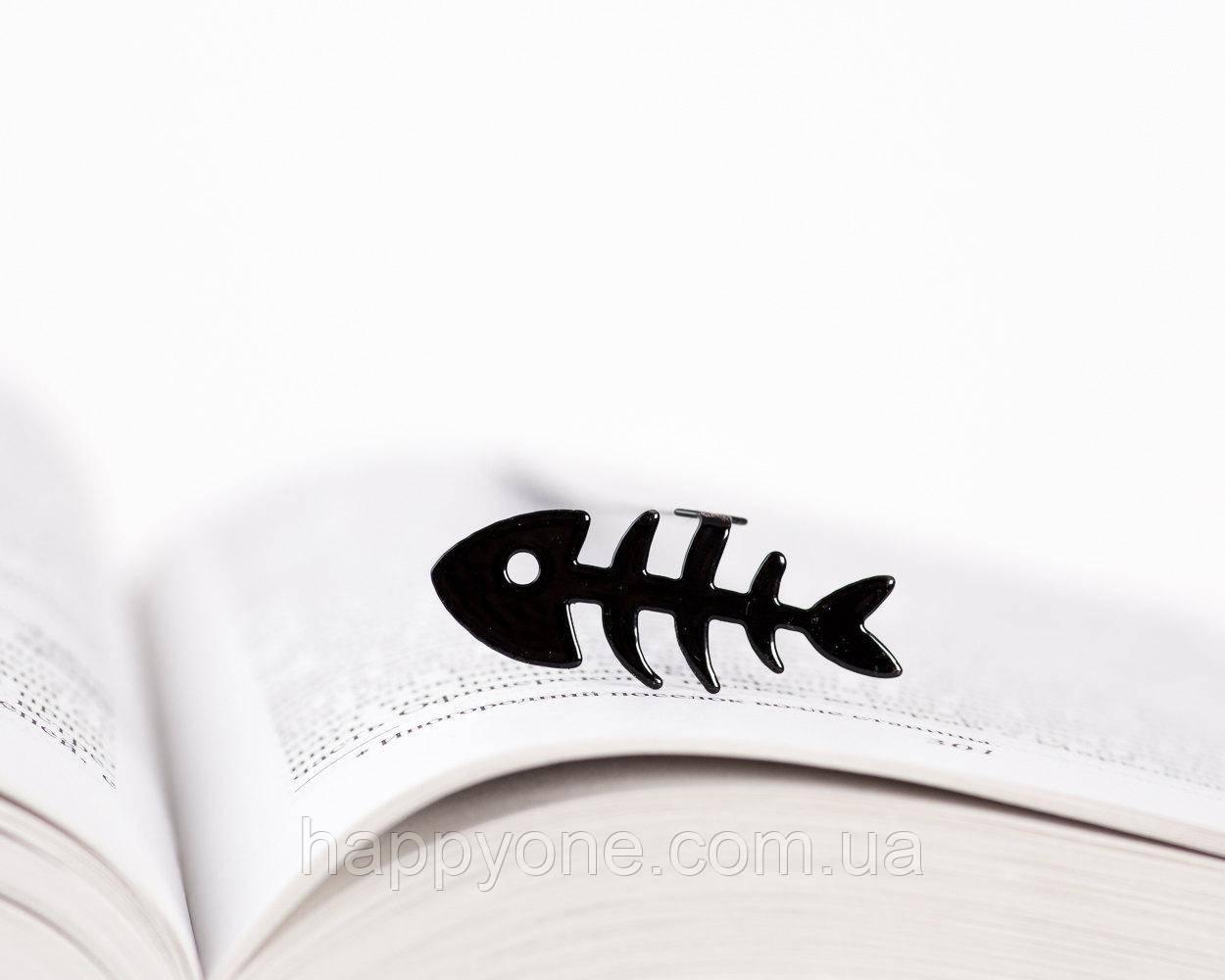 Закладка для книг Рыбья кость