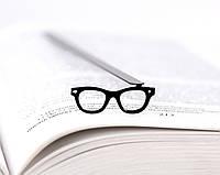 Закладка для книг Очки Хипстера, фото 1