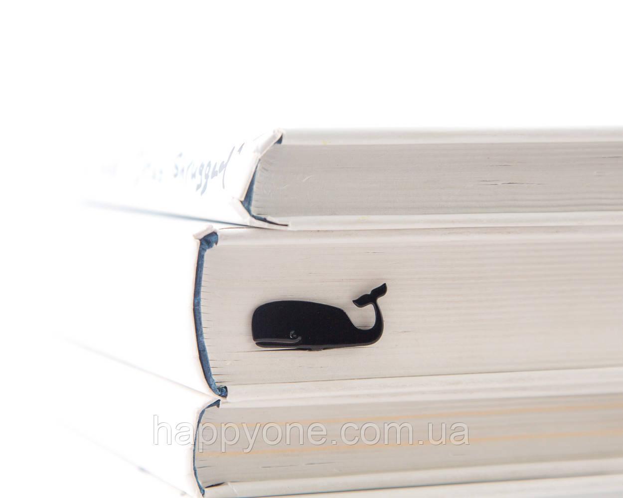Закладка для книг Чёрный Кит