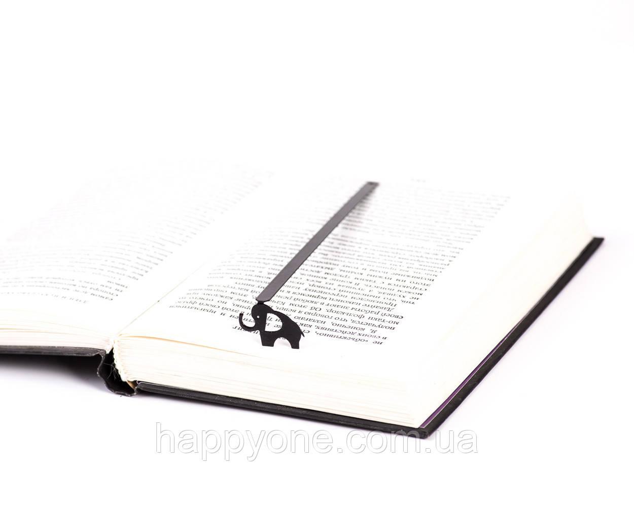 Закладка для книг Слон