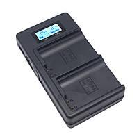 Зарядное устройство Mcoplus DH-E17 с USB для 2-х аккумуляторов Canon LP-E17, фото 1