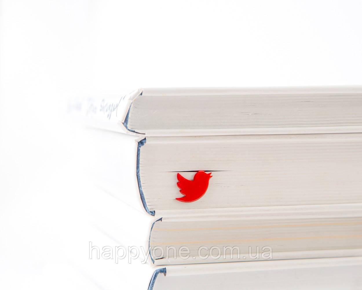 Закладка для книг Twitter