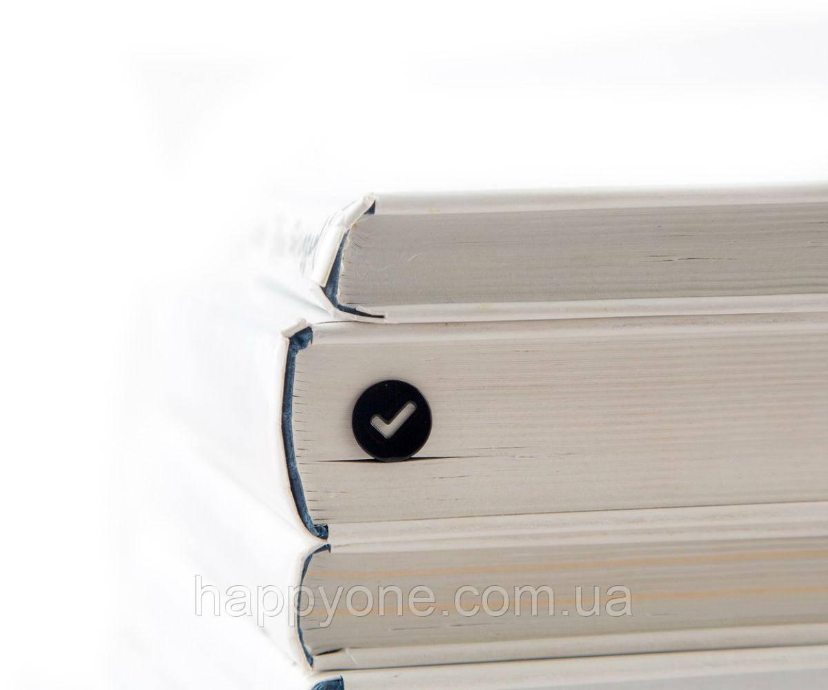 Закладка для книг Check (чёрный)