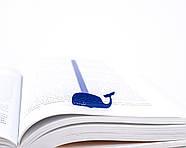 Закладка для книг Синий Кит, фото 2