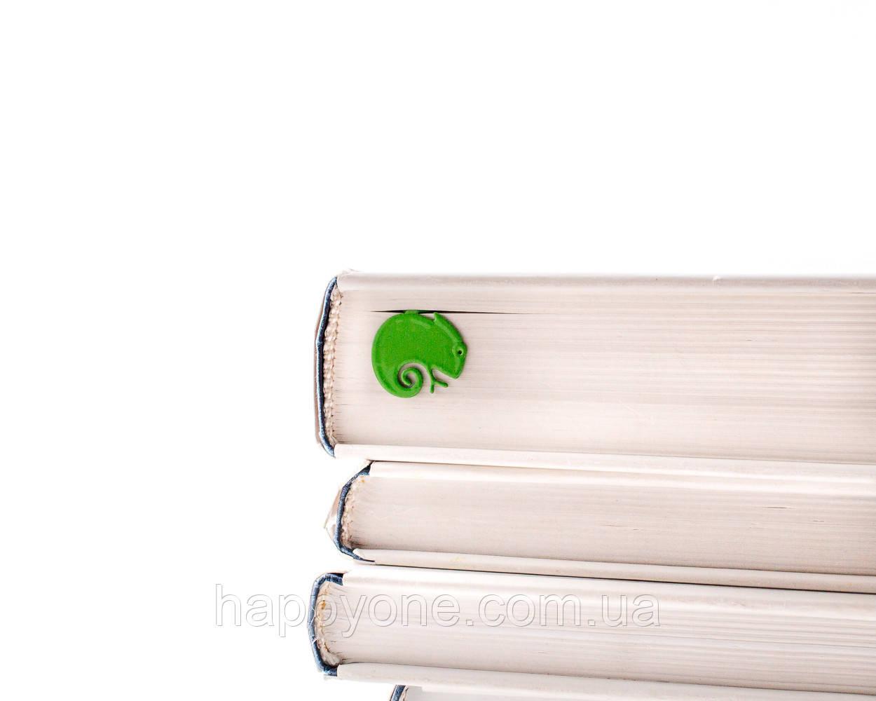 Закладка для книг Хамелеон