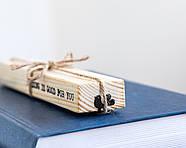 Закладка для книг Скандинавская птичка, фото 2
