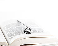 Закладка для книг Кошка на книгах, фото 2