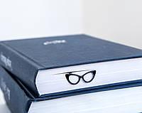 Закладка для книг Очки Кошачий глаз, фото 1