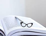 Закладка для книг Очки Кошачий глаз, фото 3