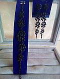 """Подовжені сережки """"під золото"""", висота 10 см., фото 6"""