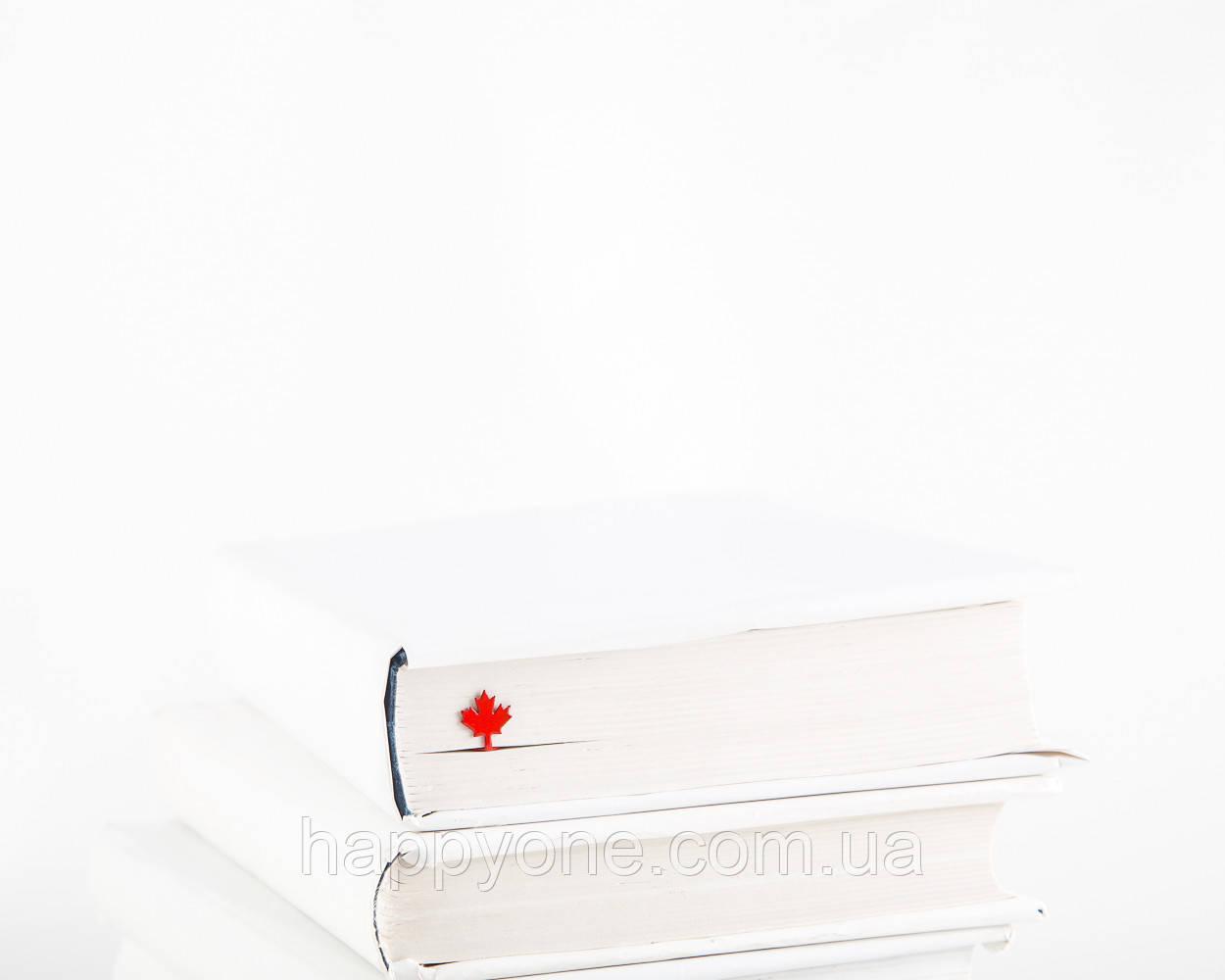 Закладка для книг Кленовый лист