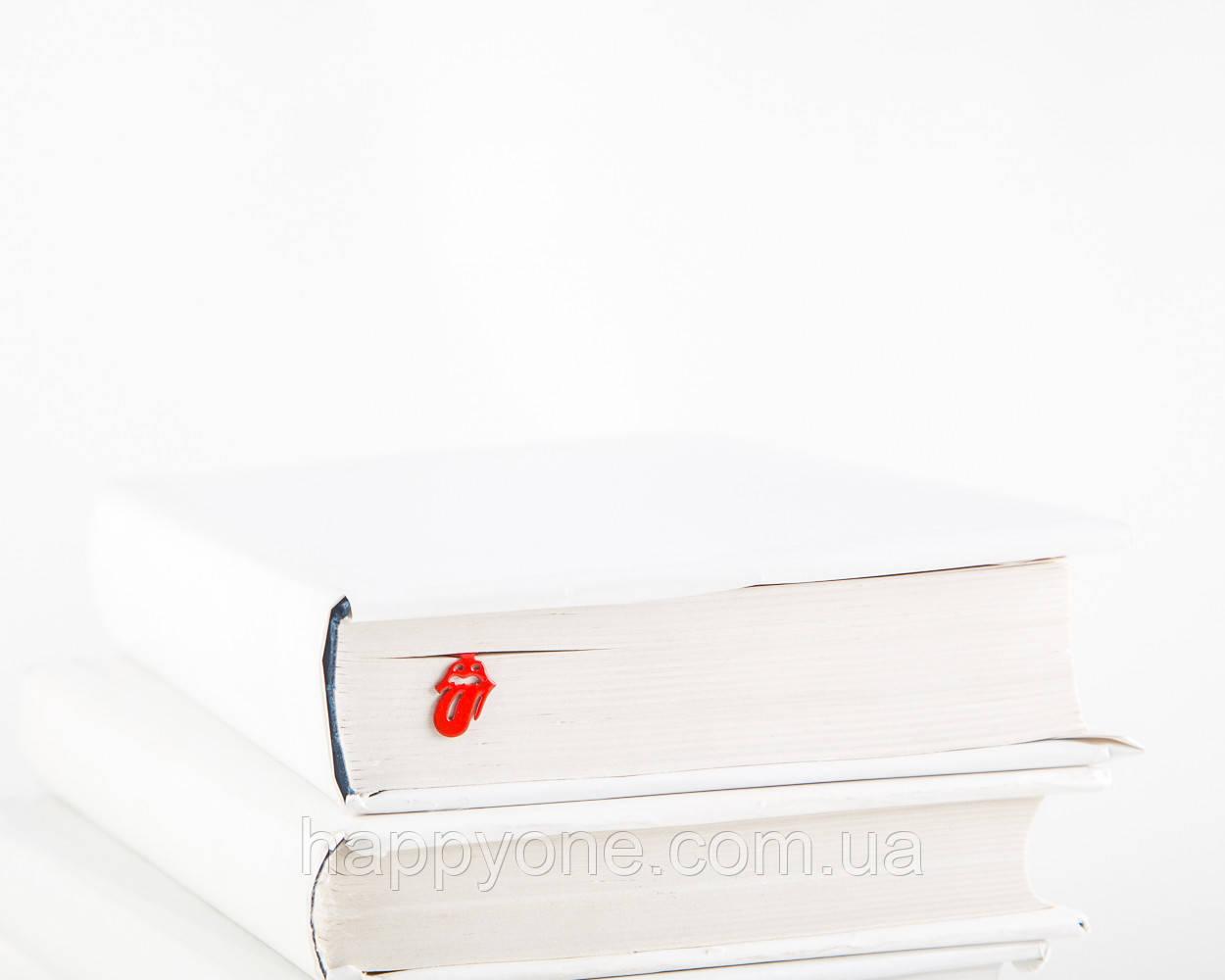 Закладка для книг Rolling Stones