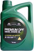 Масло моторное Hyundai Premium DPF Diesel 5W-30 C3 (6л) (MOBIS)