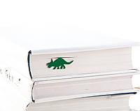 Закладка для книг Динозавр Трицератопс, фото 1
