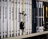 Закладка для книг Девочка на качелях, фото 1