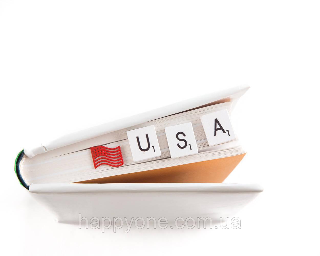 Закладка для книг Флаг США