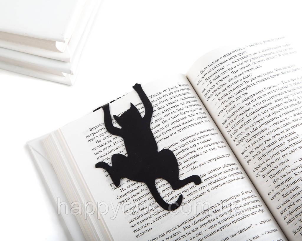 Закладка для книг Library cat