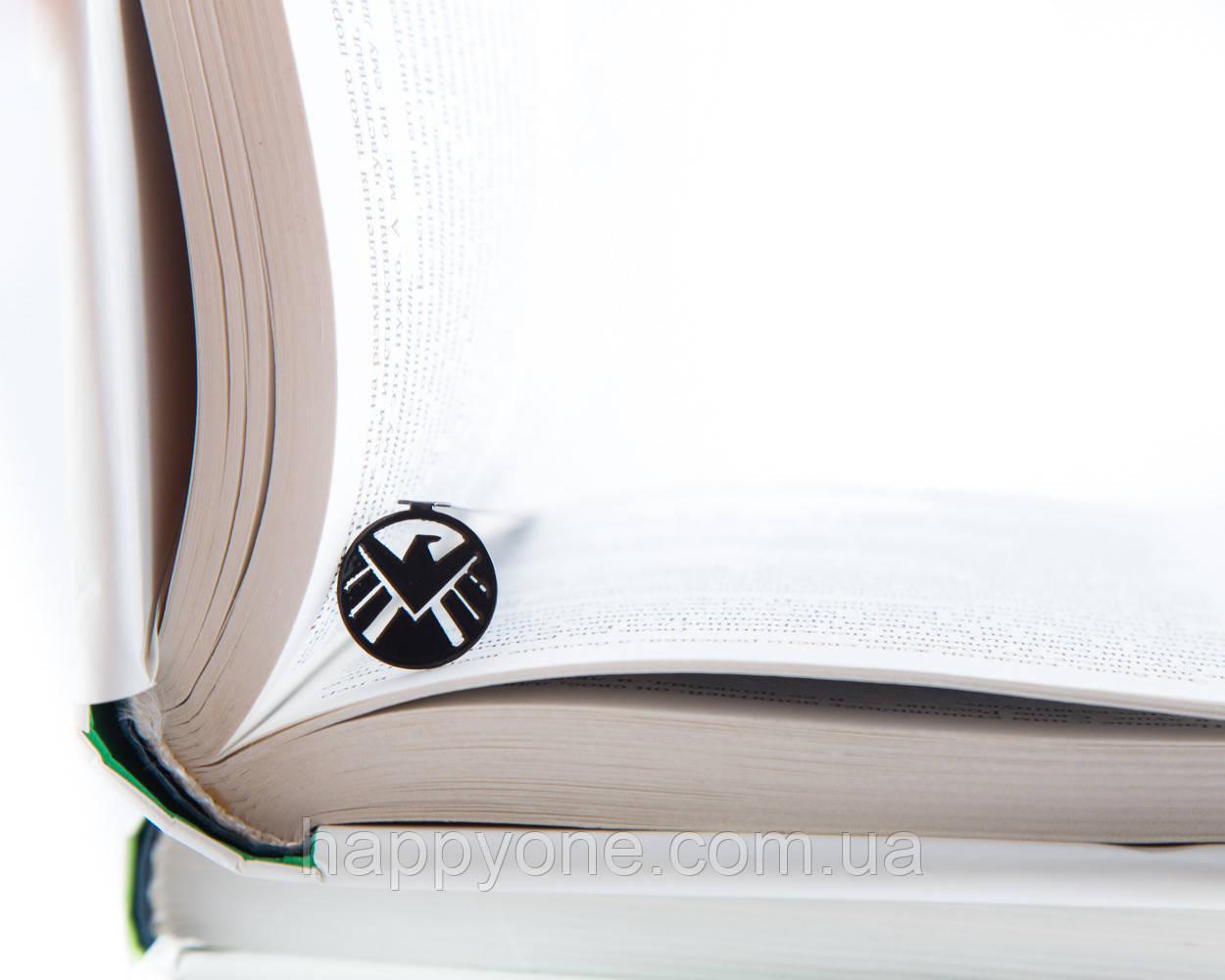 """Закладка для книг Агенты """"Щ.И.Т."""""""