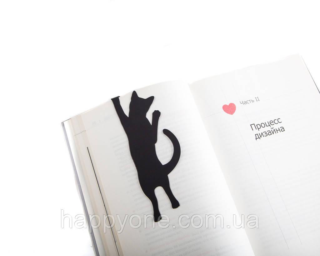 Закладка для книг Котик