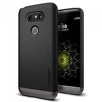 Чехол Spigen для LG G5 Style Armor, Black, фото 1