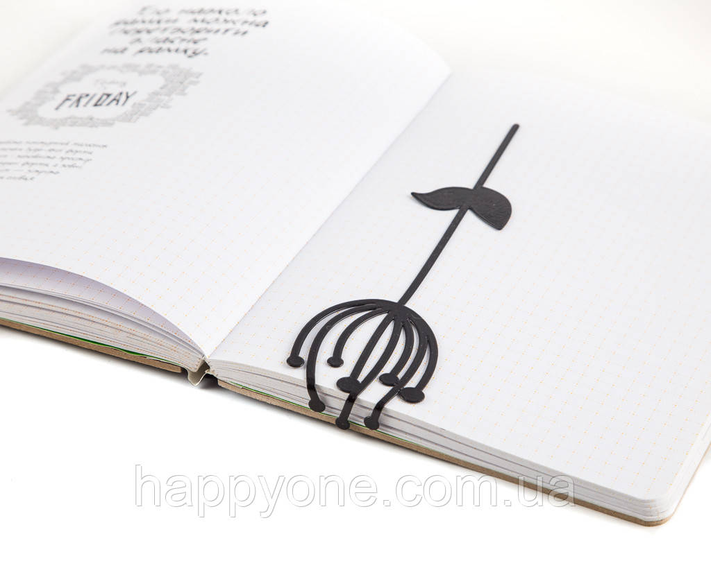 Закладка для книг Скандинавский цветок