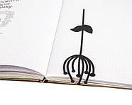Закладка для книг Скандинавский цветок, фото 2